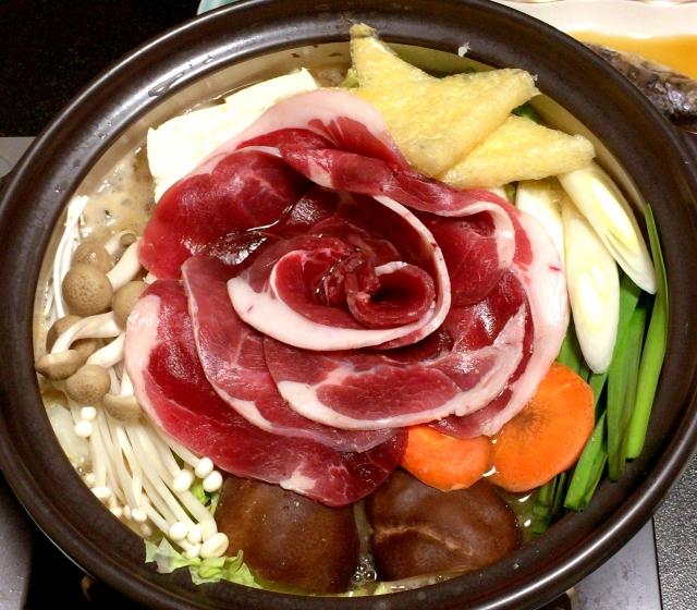 篠山 ぼたん鍋