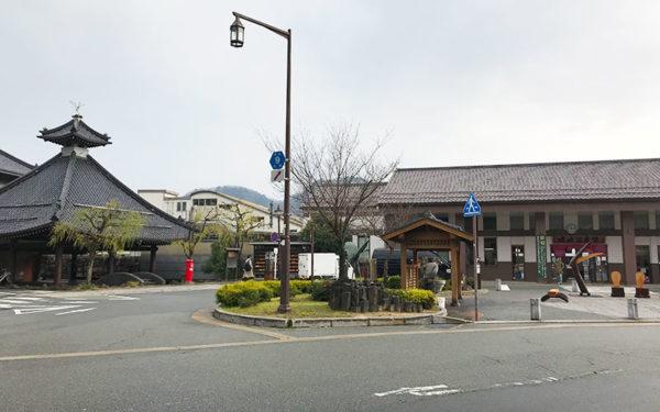 城崎温泉 駅前