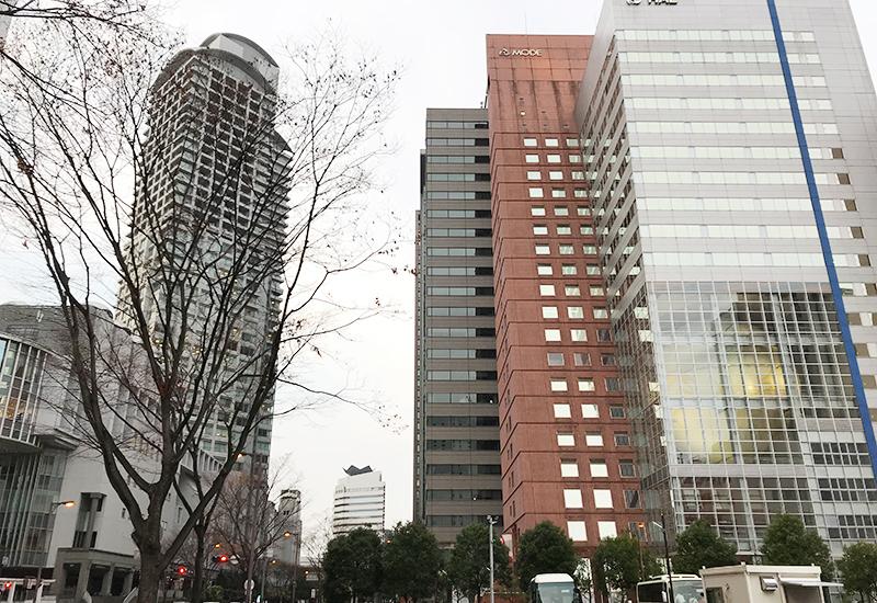 西梅田バス暫定駐車場