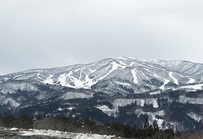 大日ヶ岳 白山 ひるがの高原SA