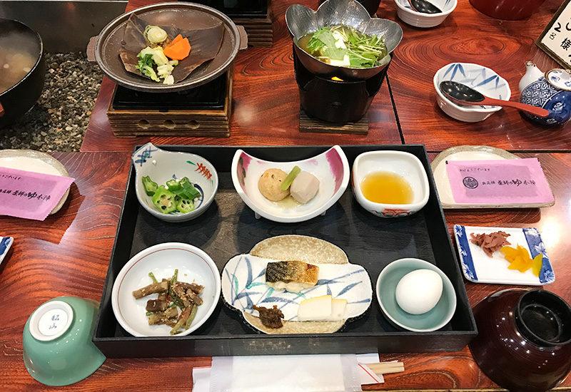 奥飛騨薬師のゆ 本陣 朝食