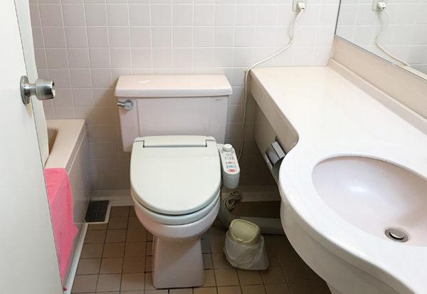 奥飛騨薬師のゆ 本陣 客室 トイレ ウォッシュレット