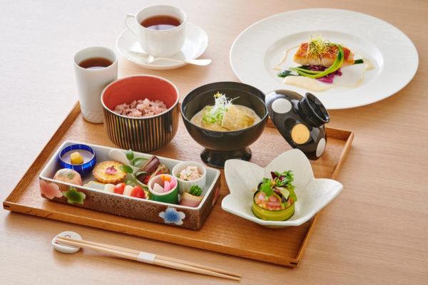 川越氷川神社 むすびcafe 季節のランチ