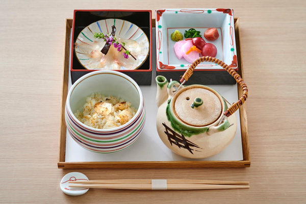 川越氷川神社 むすびcafe おめで鯛茶漬け