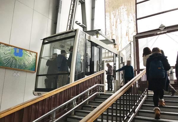 新穂高ロープウェイ 新穂高温泉駅 第1ロープウェイ