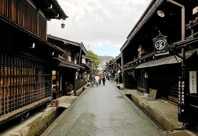 高山市 古い町並 国選定重要伝統的建造物群保存地区 観光地
