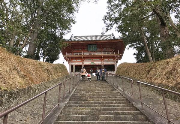 和歌山 日帰り バスツアー 道成寺 参道 階段