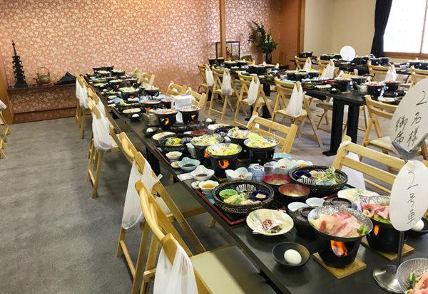 和歌山 日帰りバスツアー ランチ 昼食 お食事処 あんちん 食事会場