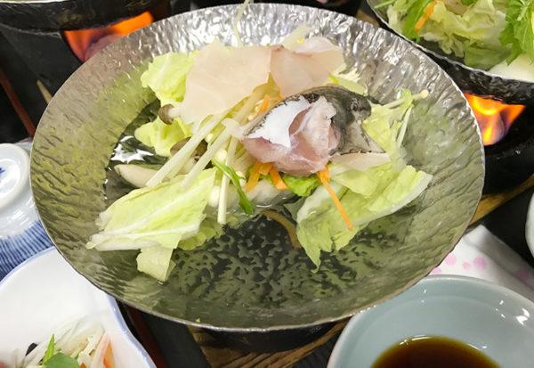 和歌山 日帰りバスツアー ランチ 昼食 お食事処 あんちん クエ鍋