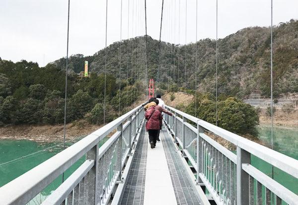 和歌山 ヤッホーポイント グリーンパーク椿山 吊り橋