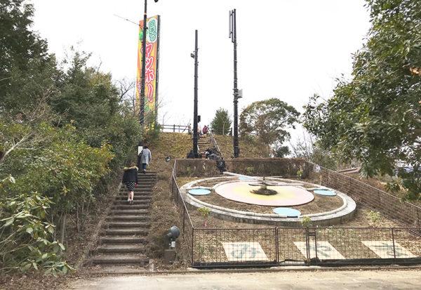 和歌山 ヤッホーポイント グリーンパーク椿山 花時計