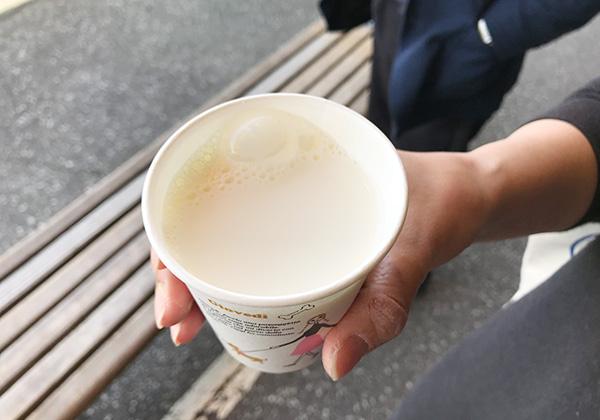道の駅 おんねゆ温泉 生牛乳