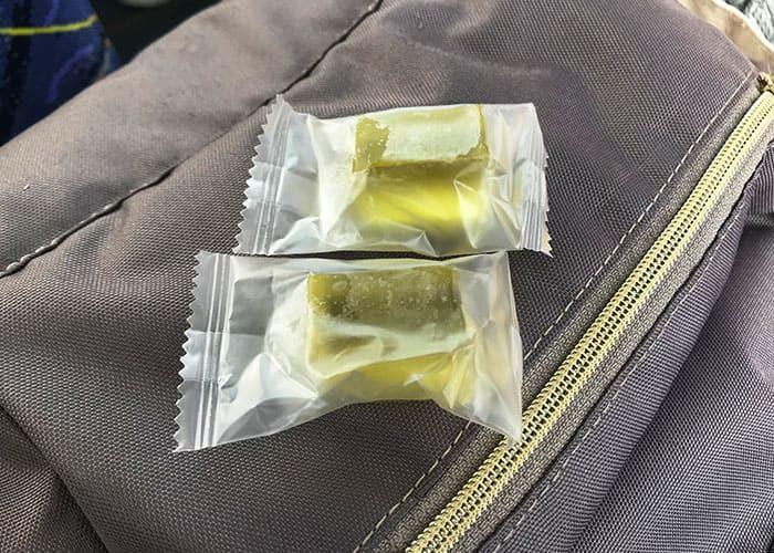 岡山 日帰り バスツアー シャインマスカットの寒天ゼリー 車内販売