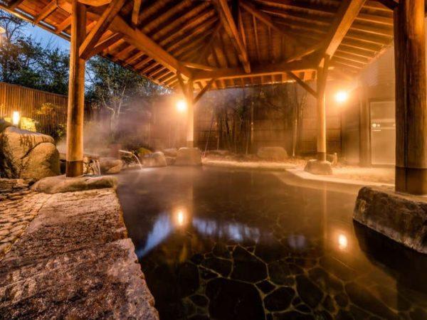石川 山代温泉 加賀百万石 大浴場