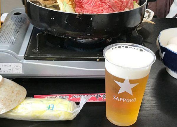滋賀 魚松 あばれ食い 生ビール