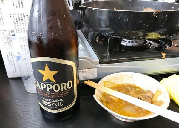 滋賀 魚松 あばれ食い 瓶ビール